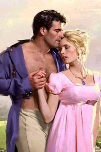 Нежность, влюбленная пара, романтическая аватарка для контакта. Картинка: девушка в розовом платье.