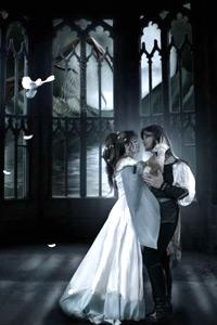 Аватарка для влюбленных - принц и принцесса в замке. Любовь, отношения и романтика на средневековой аватарке.