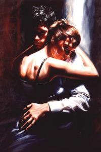 На аватарке девушка в нежных объятиях любимого молодого человека. Аватарка на тему любви.