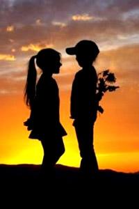 мальчик и девочка любовь картинки