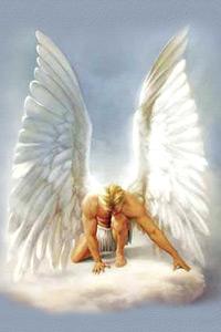 Печальный ангел картинки