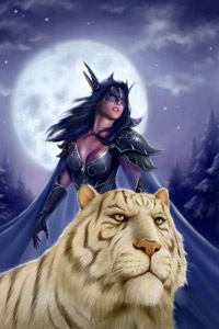 Женские аватарки 06_night_elf_girl_and_tiger